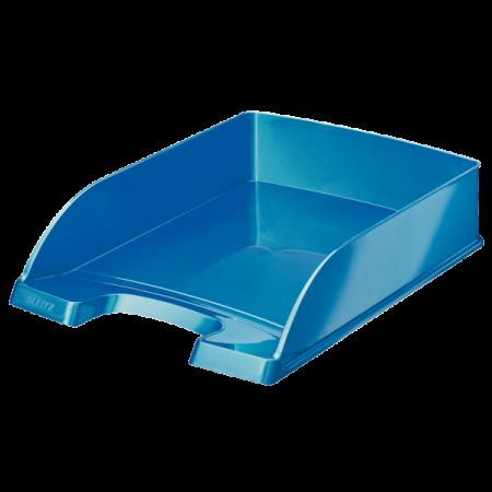 Tavita documente plastic albastra metalizat, LEITZ WoW