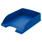 Tavita documente plastic albastra, LEITZ Plus