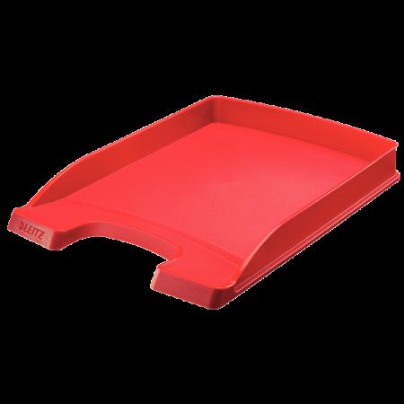 Tavita documente plastic rosie, LEITZ Slim Plus
