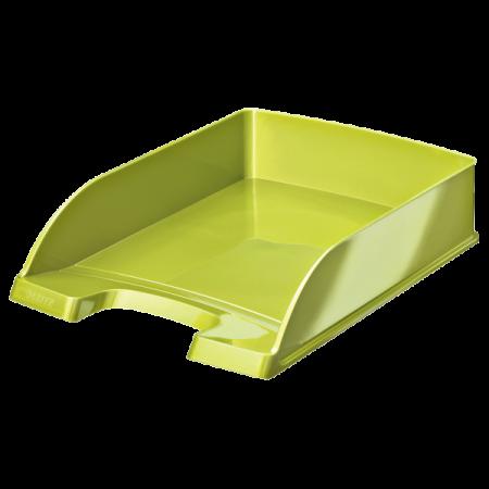 Tavita documente plastic verde metalizat, LEITZ WoW