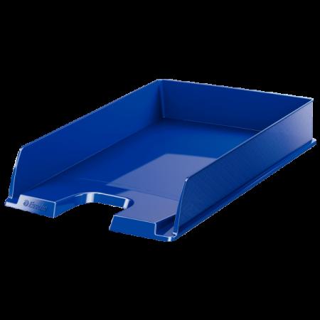 Tavita documente plastic albastra, ESSELTE Europost