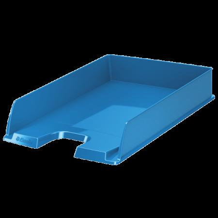 Tavita documente plastic albastra, ESSELTE Europost Vivida