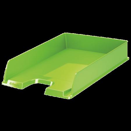 Tavita documente plastic verde, ESSELTE Europost Vivida