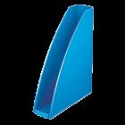 Suport vertical documente plastic albastru metalizat, LEITZ WoW
