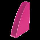 Suport vertical documente plastic roz metalizat, LEITZ WoW