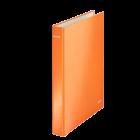 Caiet mecanic 2 inele portocaliu metalizat, LEITZ WoW