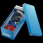 Cutie arhivare CD-uri albastra, LEITZ WoW Click&Store
