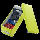 Cutie arhivare CD-uri verde, LEITZ WoW Click&Store