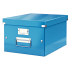 Cutie arhivare medie albastra, LEITZ WoW Click&Store