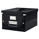 Cutie arhivare medie neagra, LEITZ WoW Click&Store