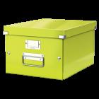 Cutie arhivare medie verde, LEITZ WoW Click&Store