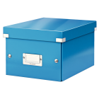 Cutie arhivare mica albastra, LEITZ WoW Click&Store