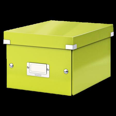 Cutie arhivare mica verde, LEITZ WoW Click&Store