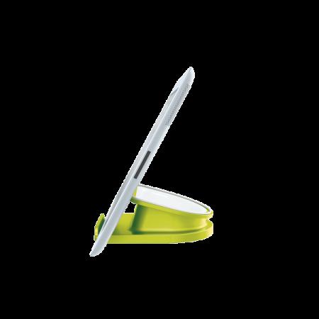 Suport rotativ pentru iPad/tableta PC, iPhone/smartphone verde metalizat, LEITZ WoW Complete