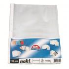 Folie protectie documente A4 35mic transparenta 100 buc/set, NOKI