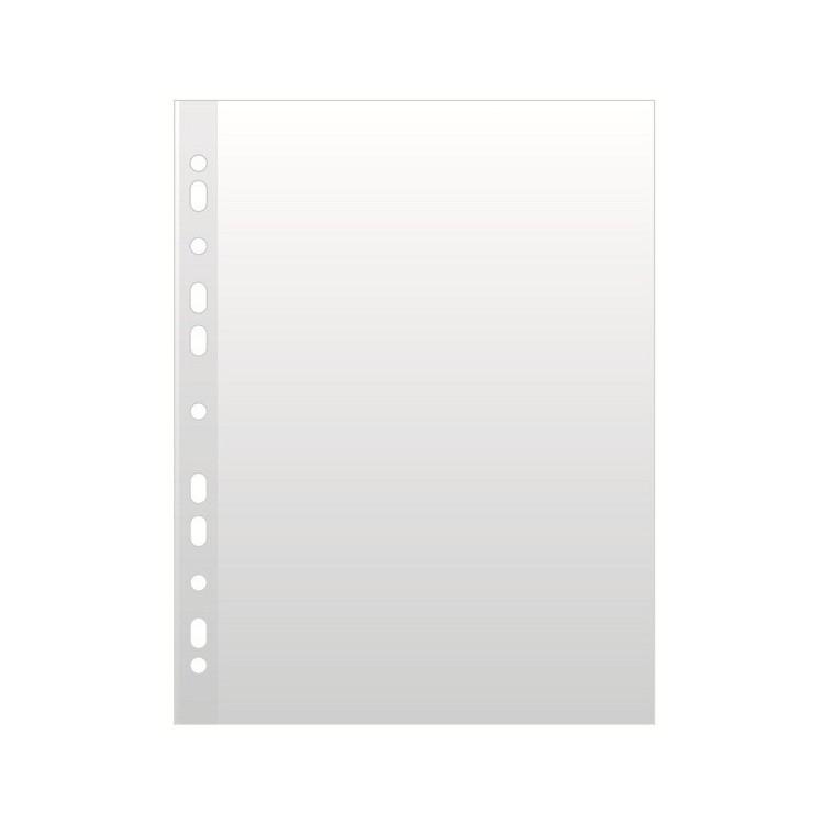 Folie protectie documente A4 45mic cristal 100 buc/set, NOKI