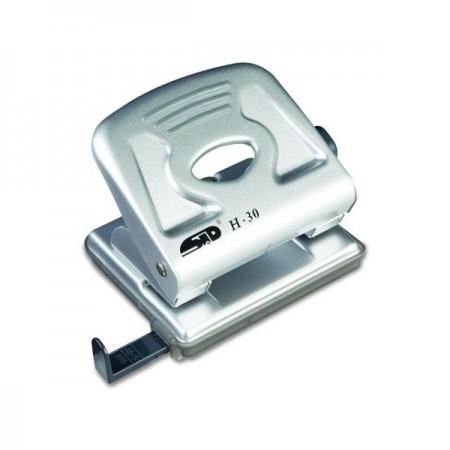 Perforator 30 coli metalic argintiu, NOKI H30