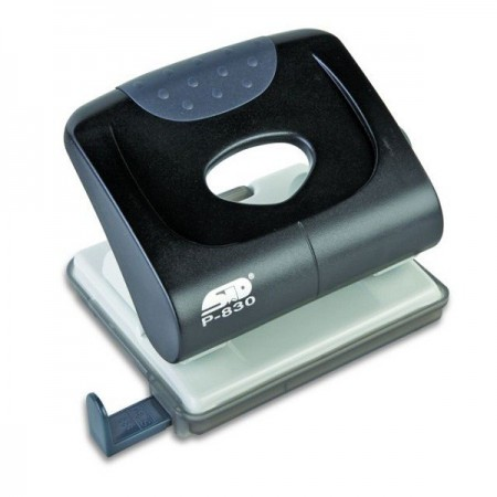 Perforator 30 coli metalic negru, NOKI P830