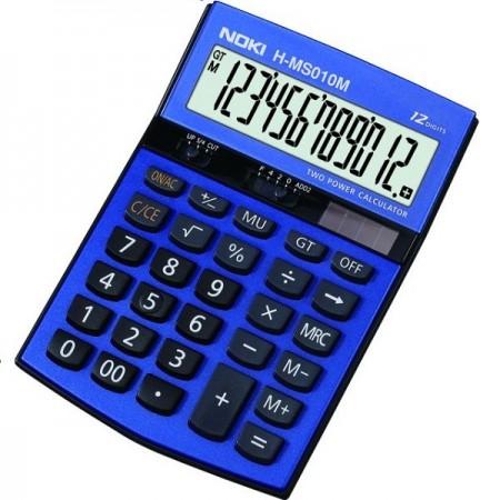 Calculator pentru birou 12 Digits albastru, NOKI HMS010