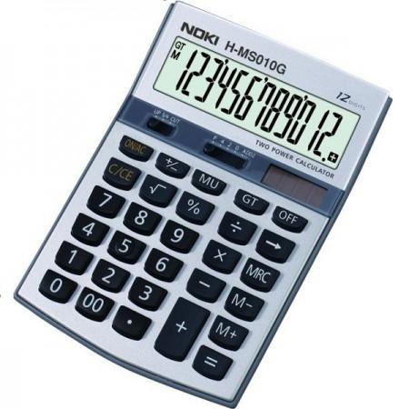 Calculator pentru birou 12 Digits gri, NOKI HMS010
