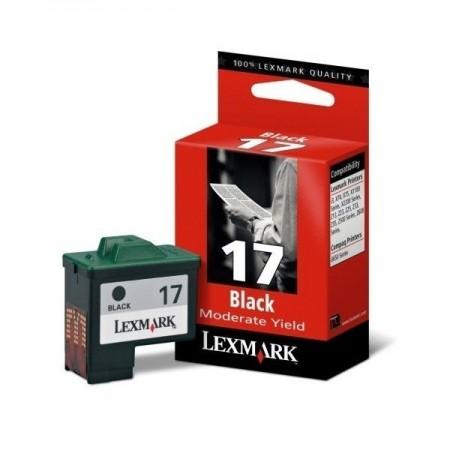 Cartus original cerneala negru, LEXMARK Nr. 17 HC