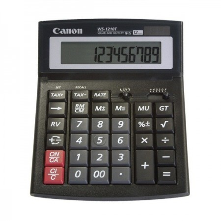 Calculator de birou 12 Digits, CANON WS-1210T