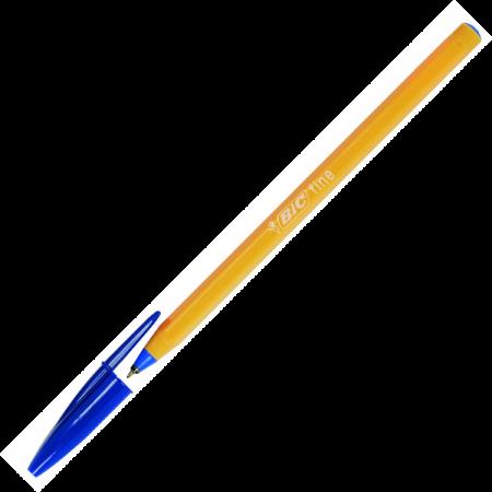 Pix de unica folosinta 0.5mm albastru, BIC Orange