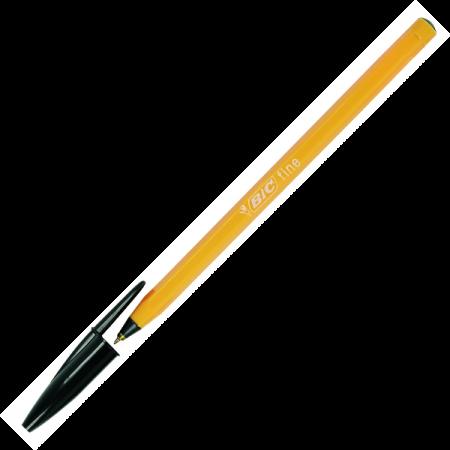 Pix de unica folosinta 0.5mm negru, BIC Orange