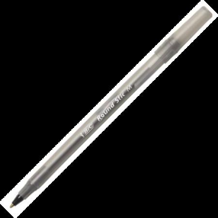 Pix de unica folosinta 0.7mm negru, BIC Round Stic