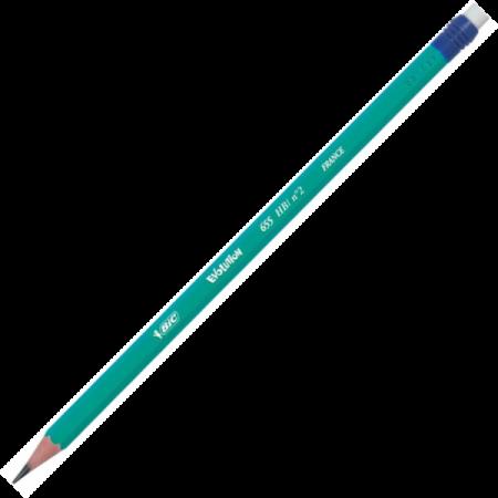 Creion grafit HB cu radiera, BIC Evolution 655