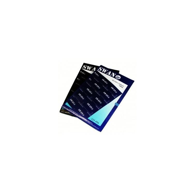 Hartie copiativa pentru scris de mana A4 100 coli/top indigo, SWAN