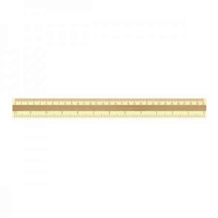 Rigla lemn 30cm, CNX
