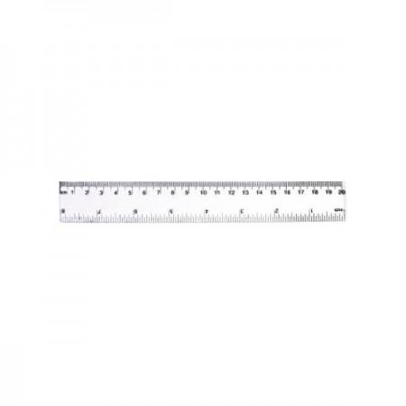 Rigla plastic 20cm, CNX