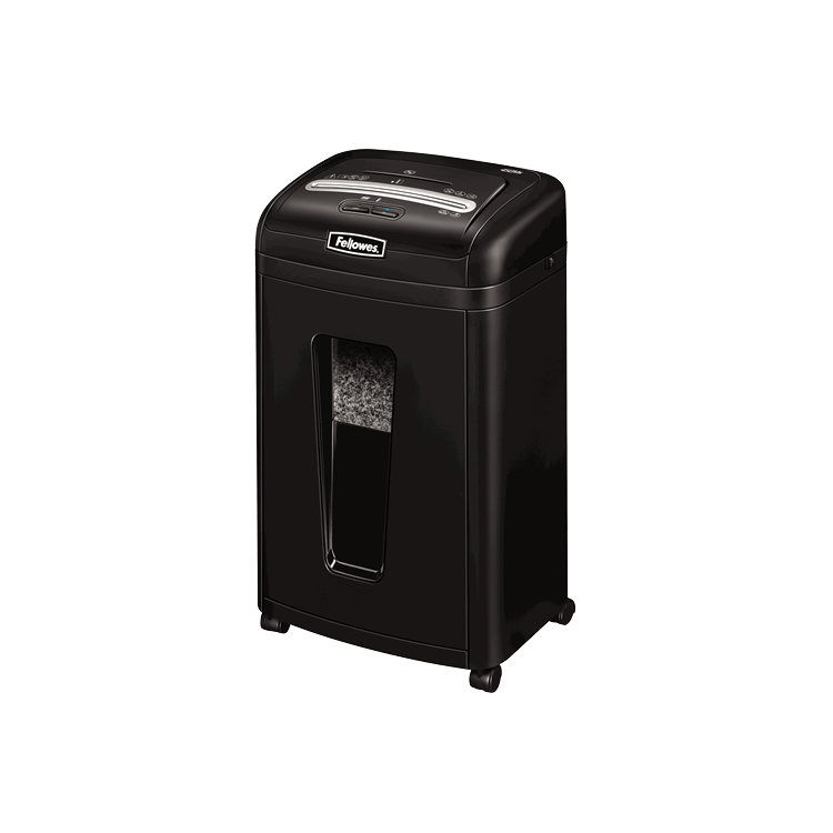 Distrugator documente 7 coli cross cut 2x8mm nivel securitate 4, FELLOWES MICROSHRED MS-450CS