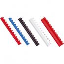 Inel plastic 14mm max 125 coli alb 100 buc/cut, FELLOWES