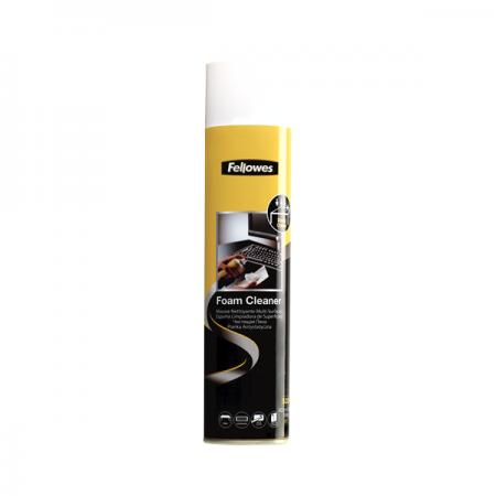 Spray curatare cu spuma suprafete plastic antistatic 400ml FELLOWES