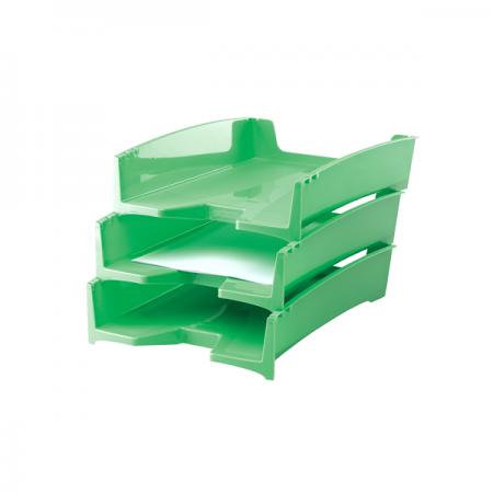 Tavita documente plastic verde, FELLOWES G2Desk