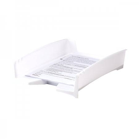 Tavita documente plastic alba, FELLOWES G2Desk