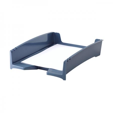 Tavita documente plastic albastra, FELLOWES G2Desk