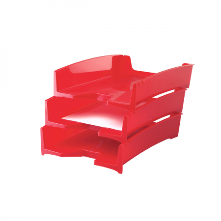 Tavita documente plastic rosie, FELLOWES G2Desk