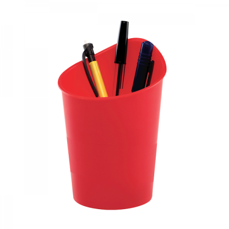 Suport instrumente de scris rosu, FELLOWES G2Desk
