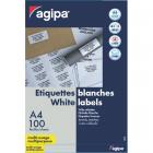 Etichete adezive 16/A4 105x37mm 100 coli/top, AGIPA