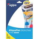 Etichete adezive rotunde  96/A5 15mm albe 16 coli/set, AGIPA