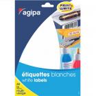Etichete adezive rotunde 294/A5 8mm rosii 10 coli/set, AGIPA