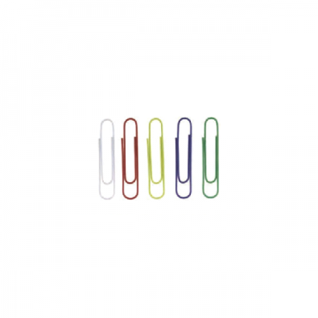 Agrafe metalice colorate 50mm 100 buc/cut, ALCO