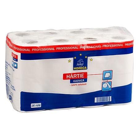 Hartie igienica 2 straturi 16 role/set, HORECA Select