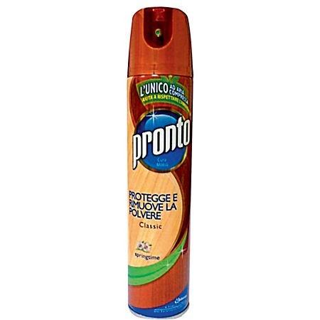 Spray pentru lemn/mobila/suprafete multiple 300ml diverse arome, PRONTO