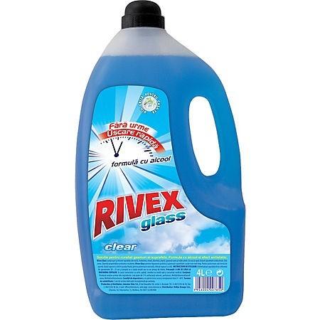 Detergent lichid pentru geamuri 4l, RIVEX Glass