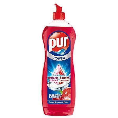 Detergent lichid pentru vase 900ml diverse arome, PUR