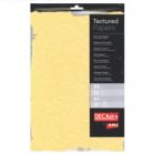 Hartie A4 95g/mp texturata pretaiata 10 coli/set, DECADRY GOLD